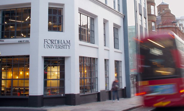 Fordham University's refurbished London Centre on Clarkenwell Road. Photo Credit: Tom Stoelker