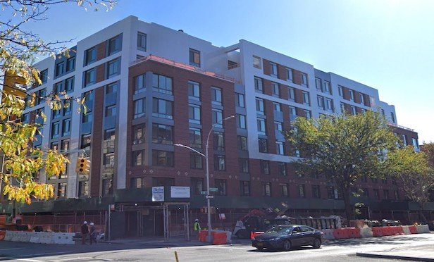 The Rennie condominium property in Harlem features 134 units, as well as ground floor retail space.