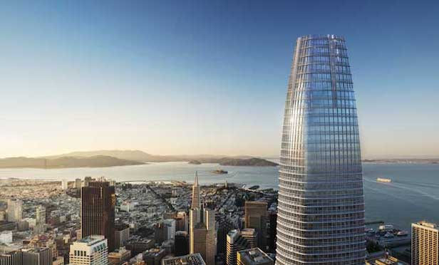 The Salesforce Tower project in San Francisco is expected to receive financing from the green bonds offering.