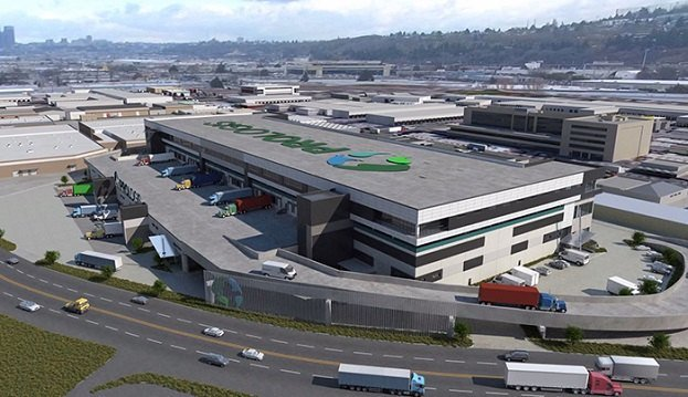 A Prologis distribution facility in Seattle.