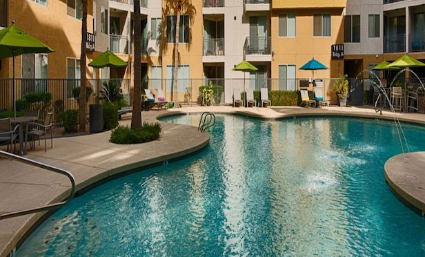 Tempe Metro located on the McClintock/Apache Boulevard ValleyMetro light rail stop and features 408 units.