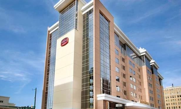 The Residence Inn Norfolk Downtown in Norfolk, VA.