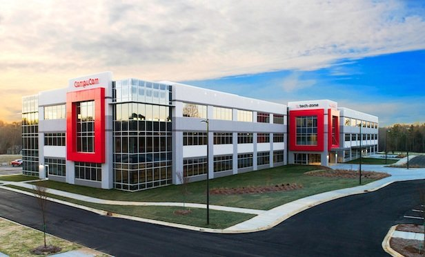 CompuCom Systems Inc. leases the entire building at 8106 Calvin Hall Road in Fort Mills, SC.Photo Credit: Keith Corporation