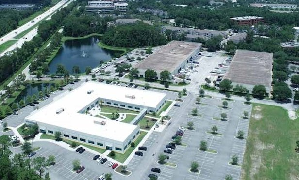 Plymouth Industrial REIT acquired Salisbury Business Park in Jacksonville, FL as part of a 20-building, three business park portfolio totaling 1.1 million square feet for $97.1 million. The portfolio is located at the intersection of I-95 and J. Turner Butler Boulevard.