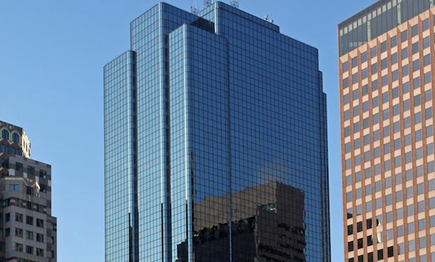 The 1.24-million-square-foot Exchange Place office tower in Boston.