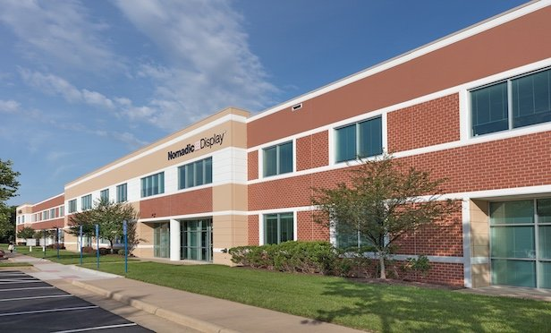 Gunston Commerce Center features nine buildings totaling approximately 600,000 square feet.