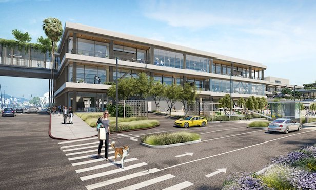 Google is leasing the entire creative space at the One Westside project. Photo Credit: Google and Hudson Pacific Properties