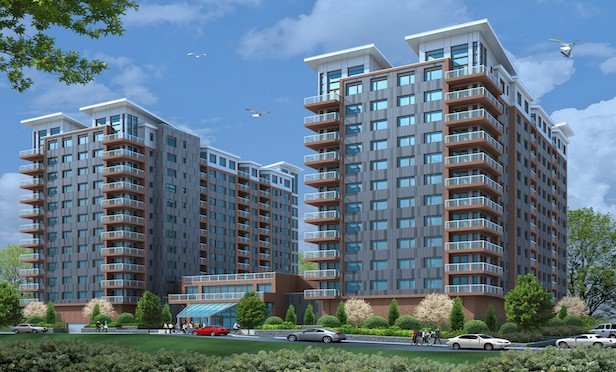 A rendering of Ginsburg Development Companies' Ludlow Point nearly $200-million mixed use project.