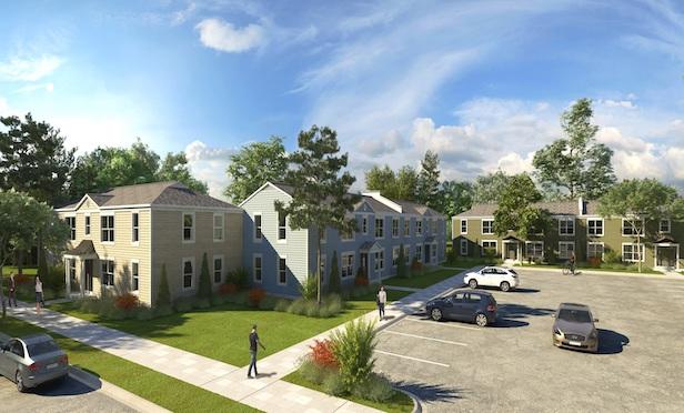 A rendering of the renovated Vesta Derby Oaks in Louisville,KY.