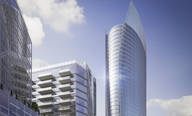 Construction on the One Congress office tower is scheduled to begin this summer.