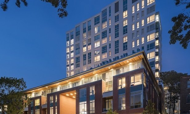 Serenity is a 195-unit development in Jamaica Plain.