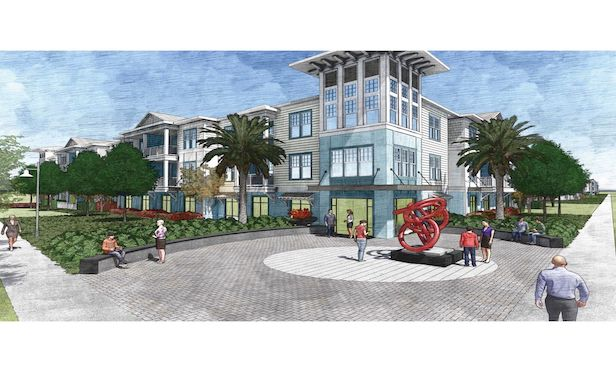 A rendering of The Rosery multifamily development in Largo, FL: Source: Pollack Shores Real Estate Group
