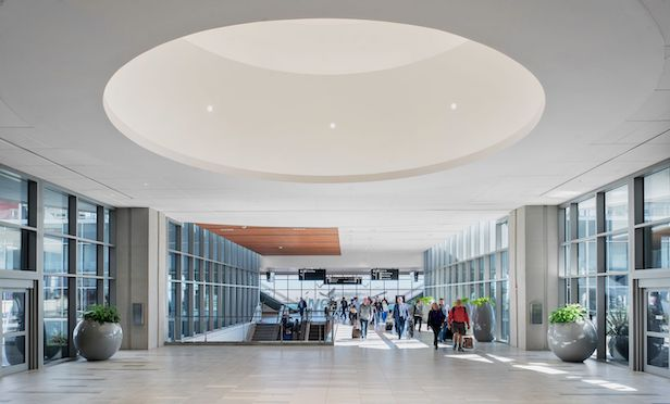 Work on the three-phase expansion and modernization of the Tampa International Airport began in 2014.