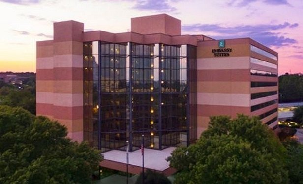 Among the 14 hotel properties sold by Park Hotels & Resorts in the past year was the Embassy Suites by Hilton Atlanta Perimeter Center.