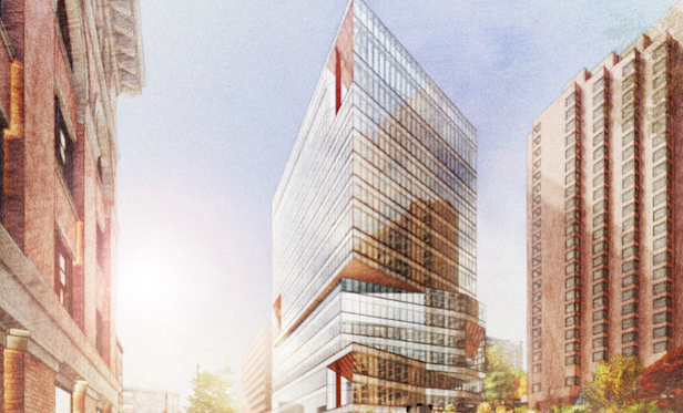 Conceptual rendering of 325 Main St. in Kendall Square. Source: Cambridge Redevelopment Authority