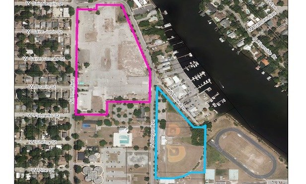 A map of the West Tampa site subject to the city's RFP. Source: City of Tampa, FL