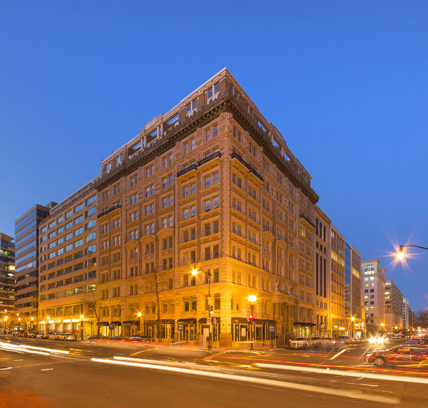 TIER REIT, which is now back in Atlanta, exited the Washington, DC market in 2017 with the sale of 1325 and 1341 G St., NW.