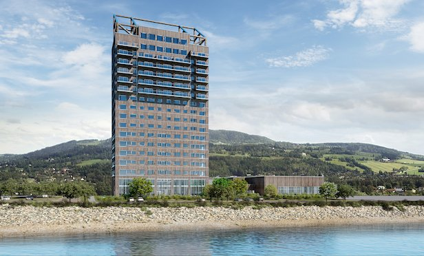 The Mjösa Tower was officially opened on March 15 and took over the title of the world's tallest wooden building. The 18-floor building, located in Brumunddal Norway, reaches a height of 85.4 meters.
