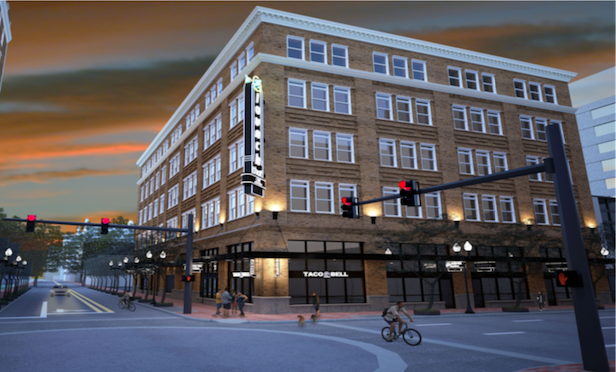 A rendering of One South Orange in Downtown Orlando.
