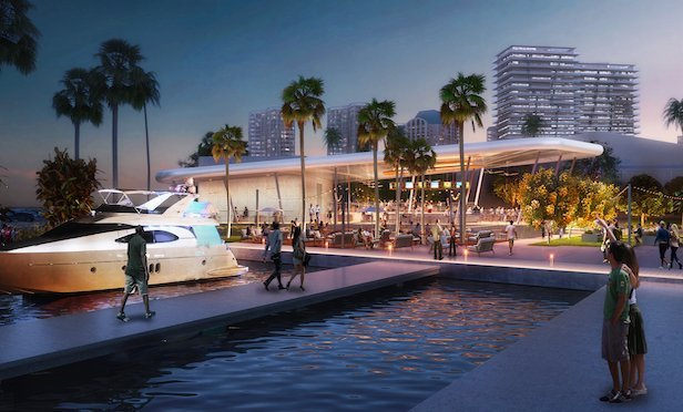 A rendering of the Regatta Harbour project in Coconut Grove.
