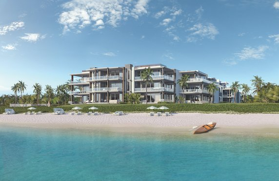 A rendering of the Ocean Delray project.