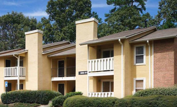 The Park at Greatstone (formerly Weatherly Apartments) is the latest of nine Atlanta-area apartment communities acquired by Blue Magma Residential since 2015. Photo Courtesy of Blue Magma Residential LLC