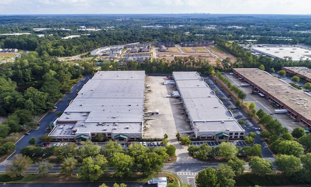 The 259,641-square-foot Roswell Distribution Center is currently 55% leased.