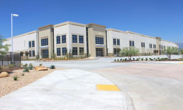 Waterman DC is a 554,000-square-foot Class A industrial facility in Inland Empire East. Photo Credit: Black Creek Group