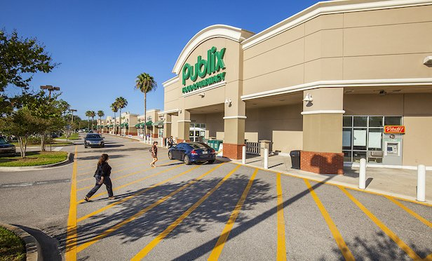 Publix and Walgreens anchor the Windsor Commons shopping center.