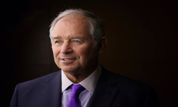 Stephen A. Schwarzman, chairman, CEO and co-founder of Blackstone