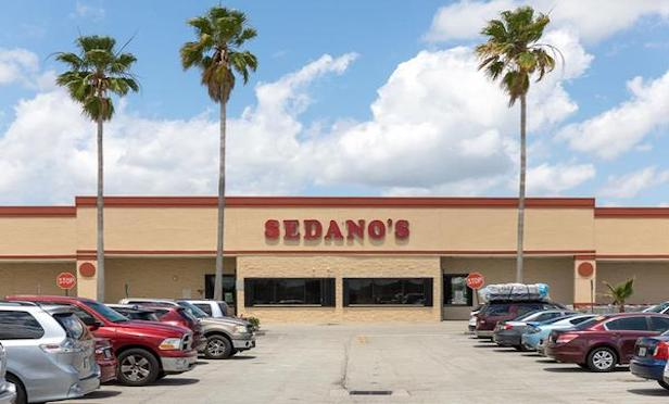 Sedano's is one of the anchors of the Pembroke Place shopping center.
