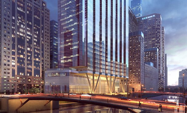 Lower floors of 110 N. Wacker Drive, Chicago, IL