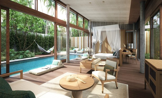 Alila Dalit Bay Villa in Malaysia. The hotel is scheduled to open in 2020.