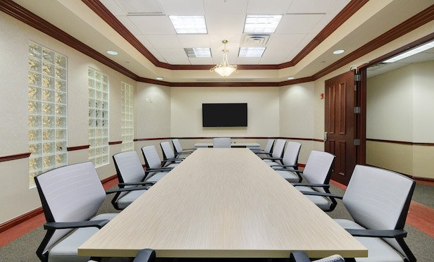 A conference room at the Nexus Wellington.