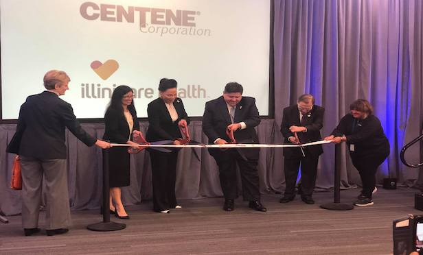 Gov. JB Pritzker joined Centene and IlliniCare Health in opening their new Carbondale Service Center at 1237 East Main St.