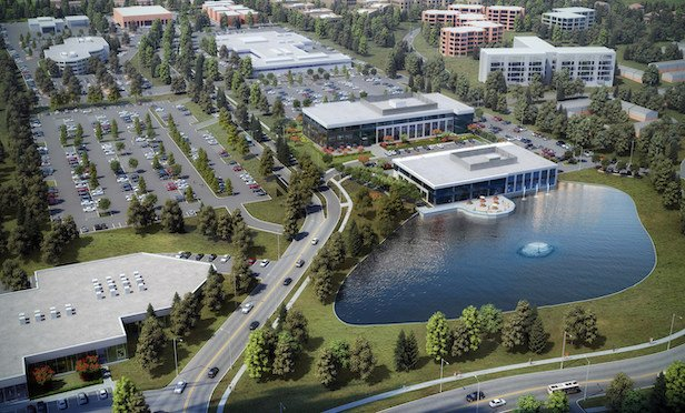 The Oakmont Point office complex will total 275,000 square feet of office space when the redevelopment project is completed. Source: Ryan Companies