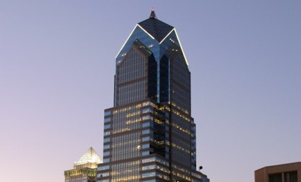 Industrious will operate out of 55,000 square feet at Two Liberty Place in Center City in early 2020.