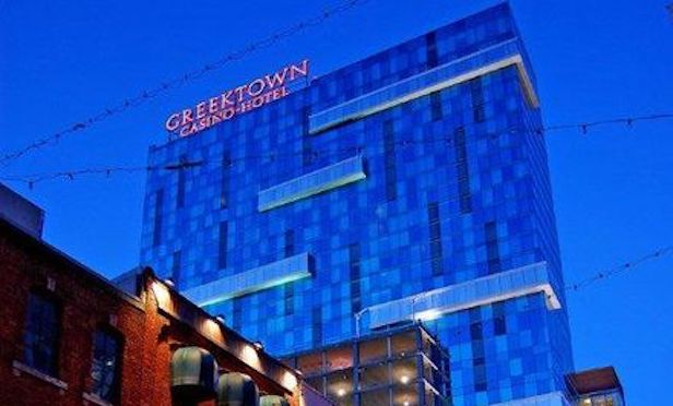 The Greektown Casino in Downtown Detroit first opened in 2000.