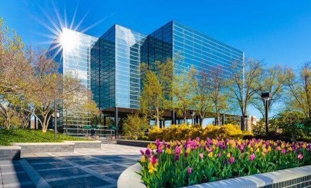 The Court Plaza office complex in Hackensack totals 335,000 square feet.