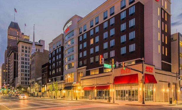 The 150-room Courtyard by Marriott Newark Downtown