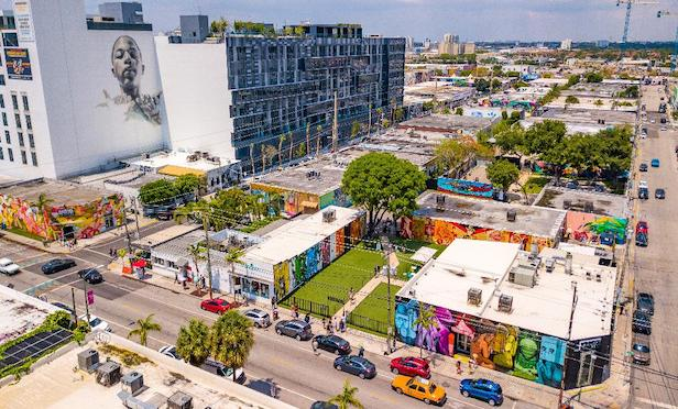 A rendering of The Collective Miami.