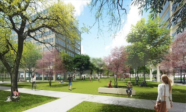 The renovation of the historic Mies Van der Rohe-designed Bailey Hall will provide new living space for 330 freshmen and sophomores by the Fall semester of 2020.