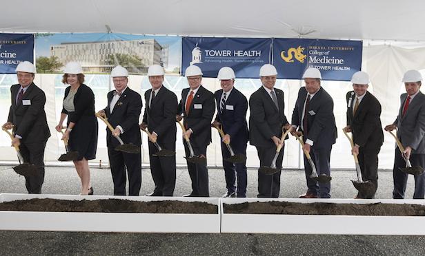 Tower Health, Drexel U  College of Medicine Break Ground on New