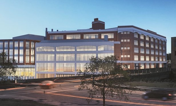 A rendering of the Pitt Immune Transplant & Therapy Center Phase I.