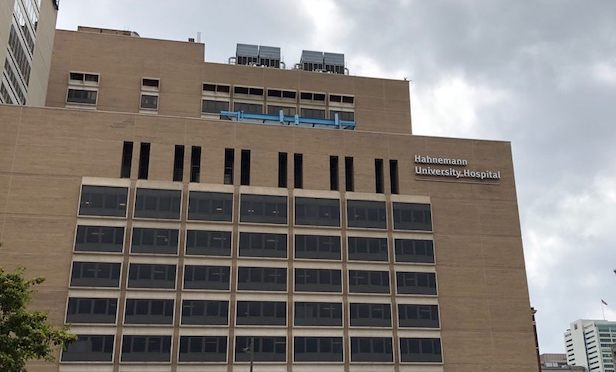Hahnemann University Hospital, Philadelphia