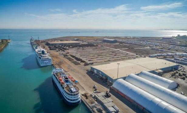 More than 19 million tons of waterborne cargo moves through the Port of Chicago each year, the most of any port on the Great Lakes, according to the IIPD.