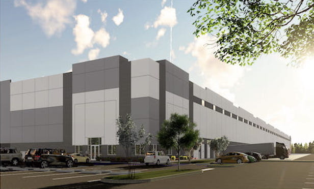 A rendering of 10 Princess Logistics in Lawrenceville, NJ.