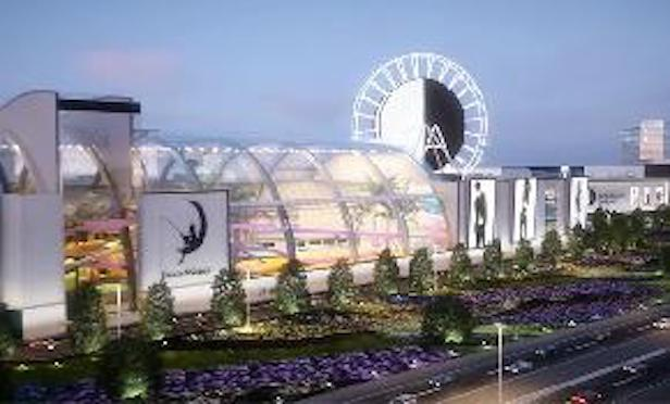The American Dream Mall will total approximately 3 million square feet.