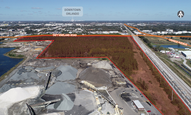 The 72-acre site could accommodate up to 1 million square feet of new industrial space in the tight Orlando market.