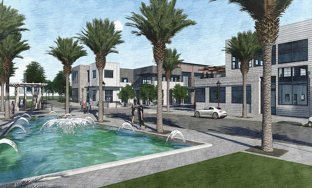 A rendering of SweetBay Town Center in Panama City, FL.